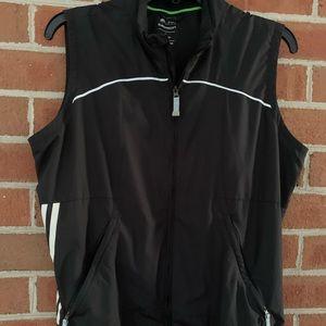 Adidas golf vest, black.